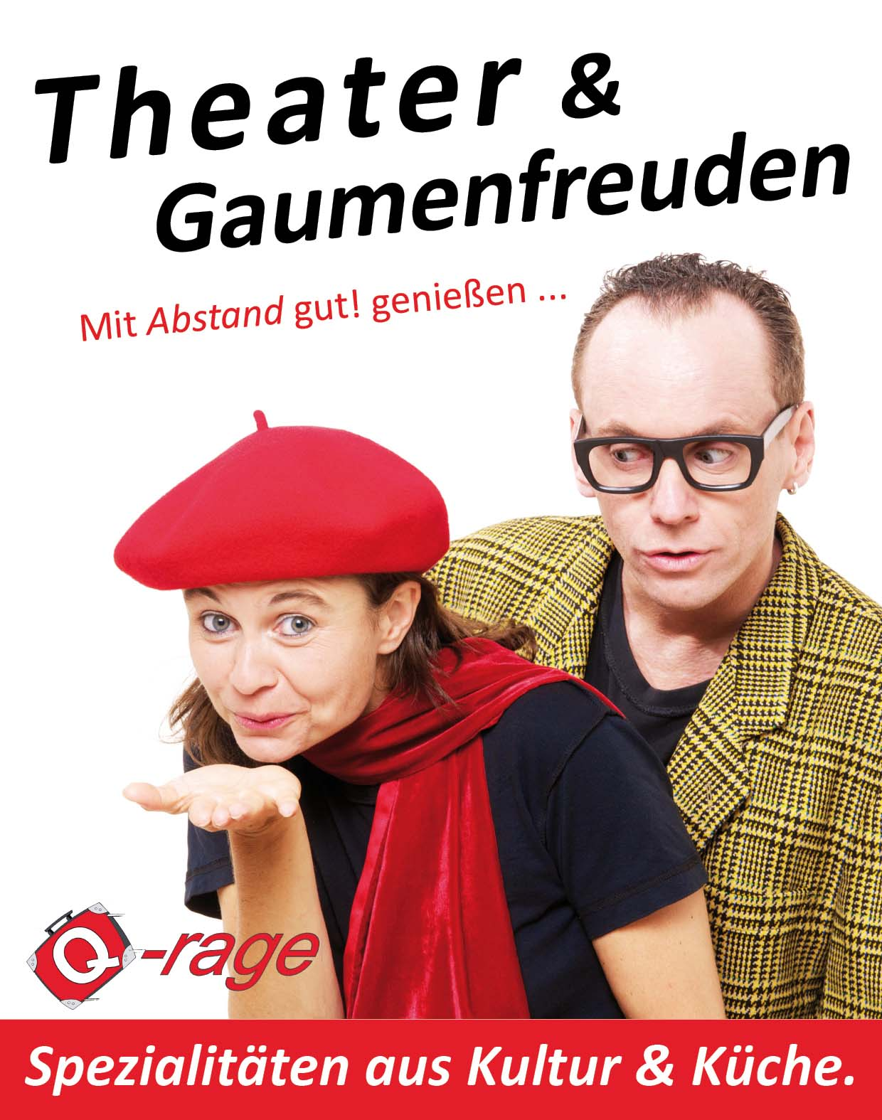 Flyer 2020 Theater Gaumenfreuden homepage